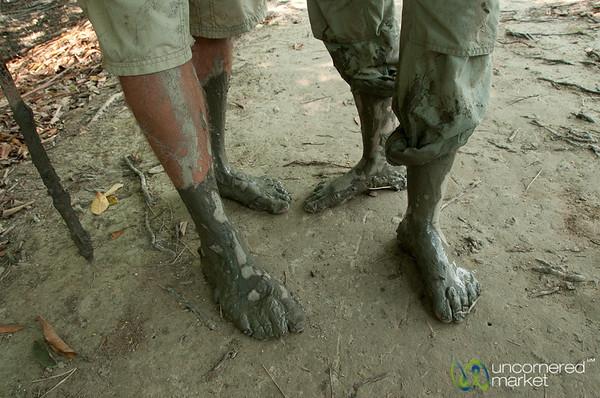 Muddy Feet - Sundarbans, Bangladesh