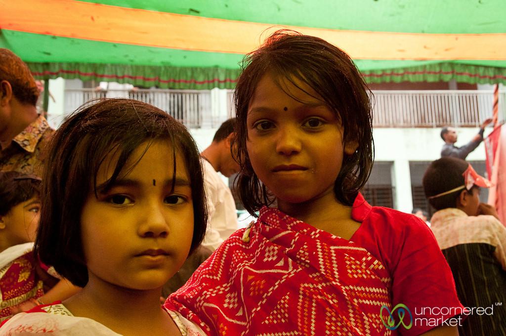 Young Girls at Bangla New Years - Rangamati, Bangladesh