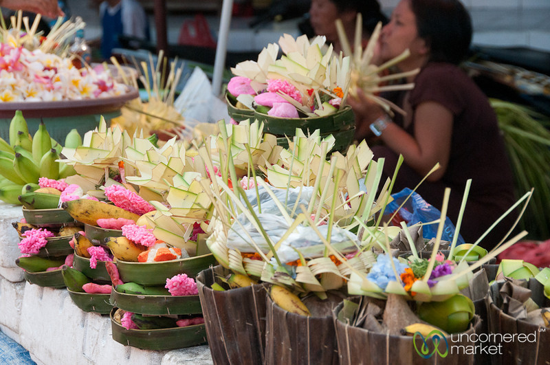 Offerings for Sale - Bali, Indonesia