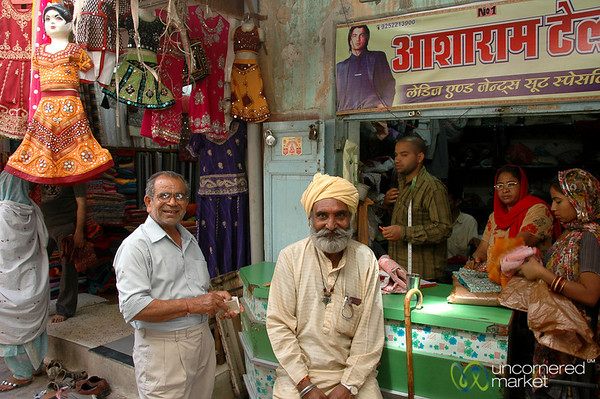Hanging Out at the Market - Bikaner, India