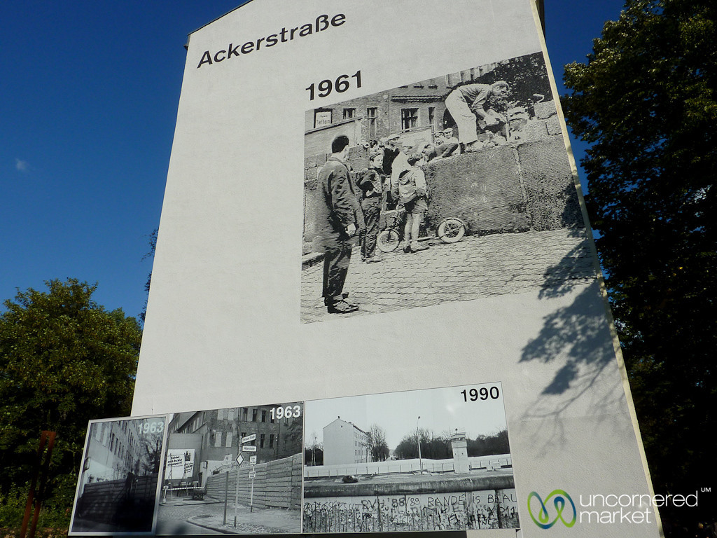 Berlin Wall Photos at Ackerstrasse