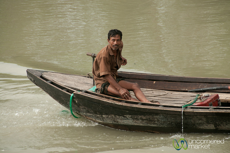 Man on a Boat - Bangladesh