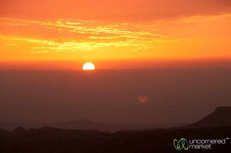 Sunset Reflections - Dana, Jordan
