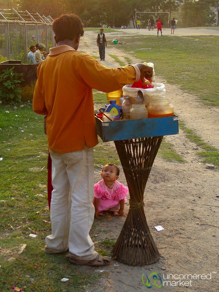 Waiting for a Snack - Kathmandu, Nepal