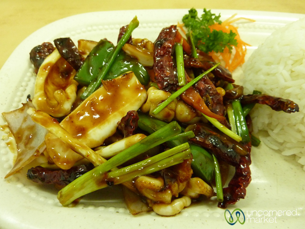 Sichuan Peppers and Squid - Kuala Lumpur, Malaysia