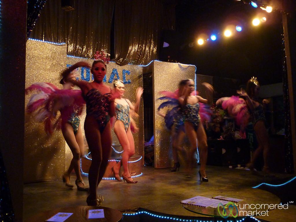 Ladyboy Cabaret at Lamai Beach - Koh Samui, Thailand