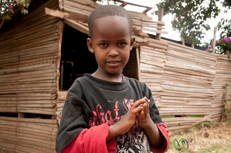 Serious Look on Young Boy - Mto wa Mbu, Tanzania