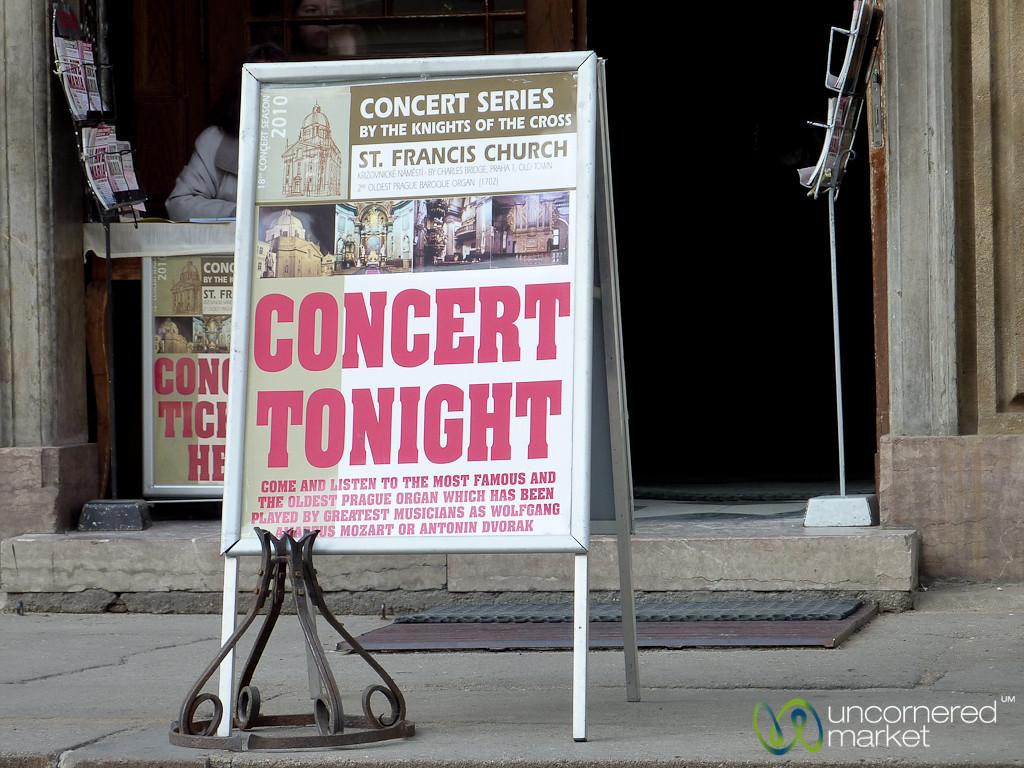 Concert Tickets for Sale - Prague, Czech Republic