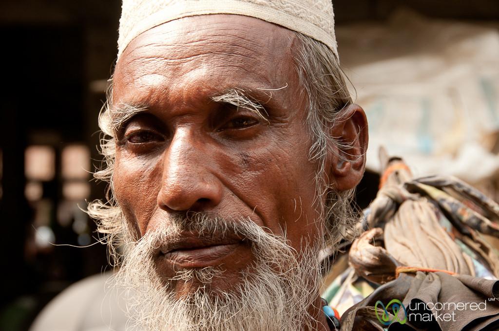 Older Man with White Beard - Srimongal, Bangladesh