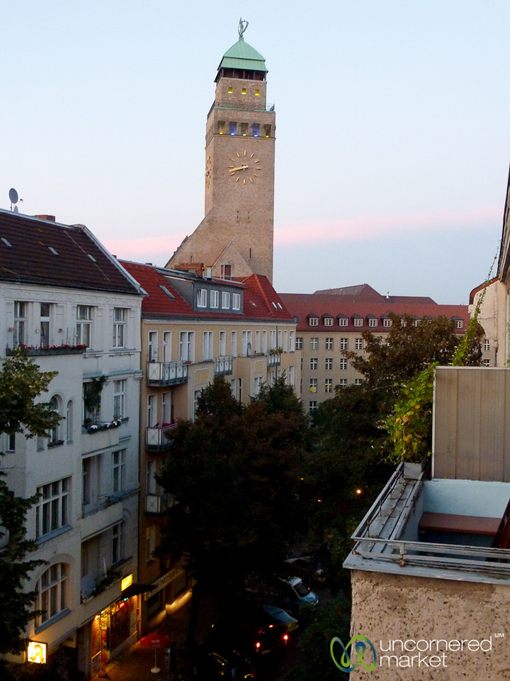 Sunset View from our Balcony  - Neukölln, Berlin