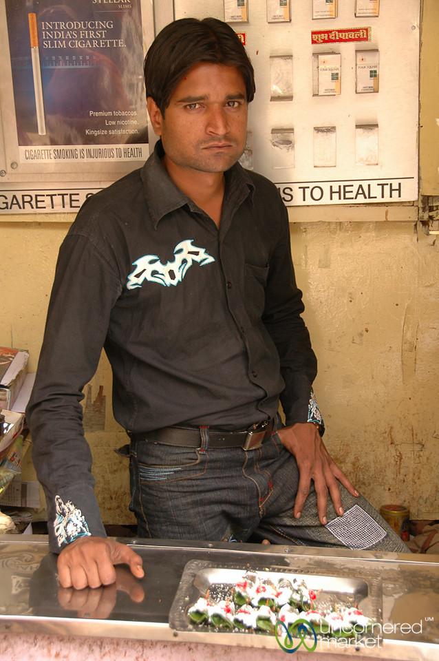 Pan Vendor in Udaipur, India