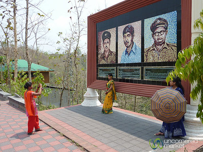 Women Posing for Photos - Rangamati, Bangladesh