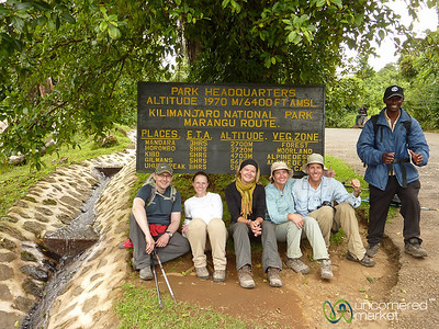 Our Kilimanjaro Team - Tanzania