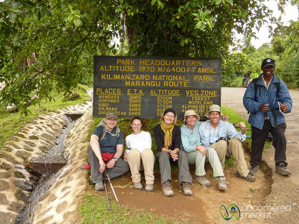 Our Kilimanjaro Team - Tanzania
