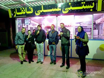 Ice Cream Stop - Kermanshah, Iran