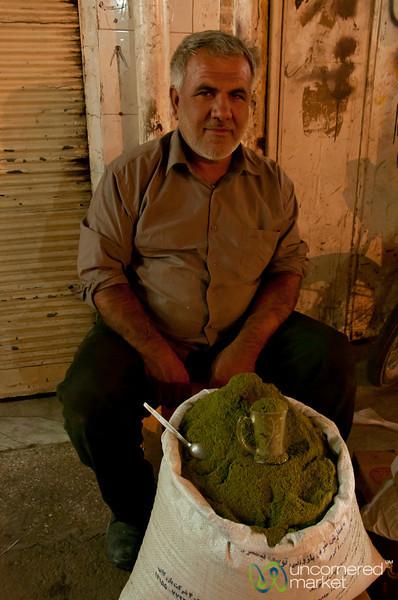 Mint Vendor in Ahwaz, Iran