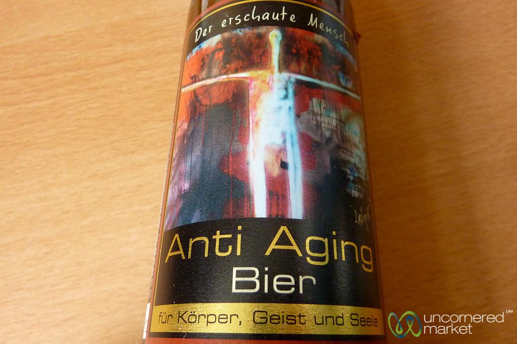 Anti-Aging Beer? Berlin, Germany
