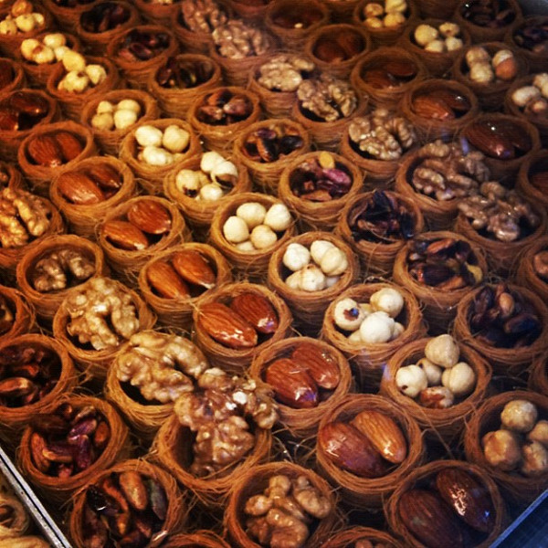 Turkish sweets. Like art. #Istanbul