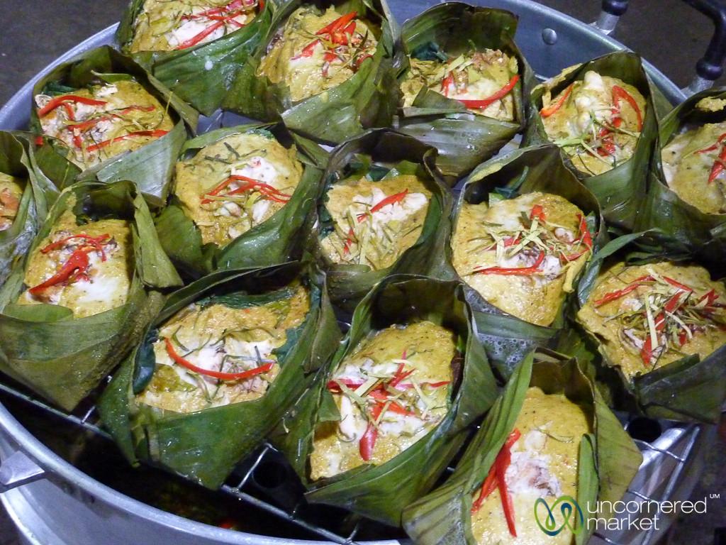 Steamed Fish Cakes - Koh Samui, Thailand