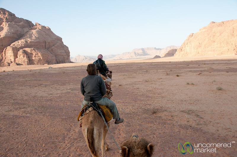 Camel Ride through Wadi Rum, Jordan