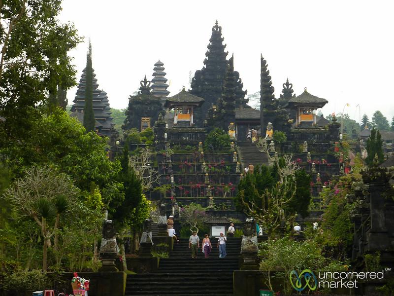 View of Besakih Temple - Bali, Indonesia