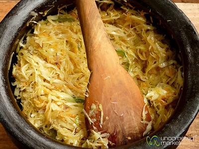 Chopped Cabbage Salad - Mto wa Mbu, Tanzania