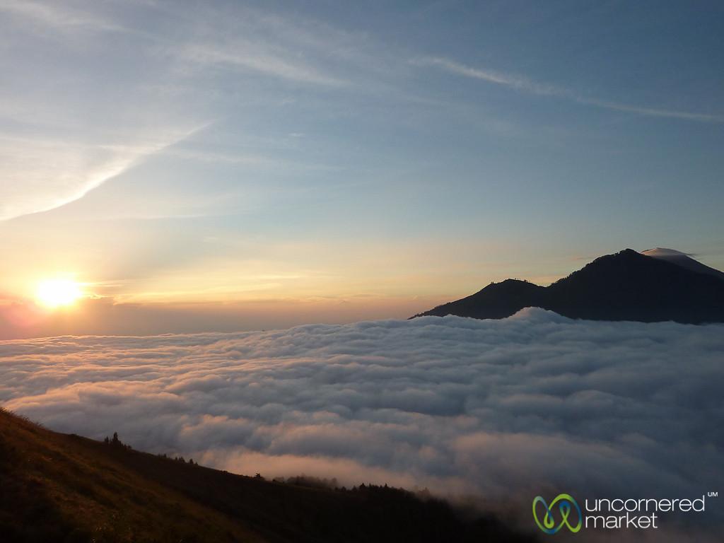 Sunrise Above Clouds - Mt. Batur, Bali