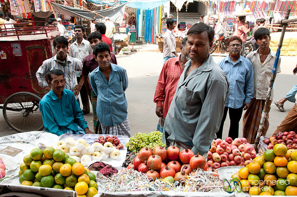 Selling Fruit Near Saderghat - Old Dhaka, Bangladesh