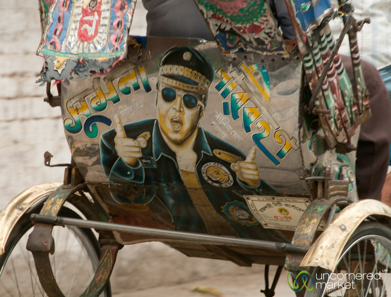 Elvis on the Back of a Bangladeshi Rickshaw?