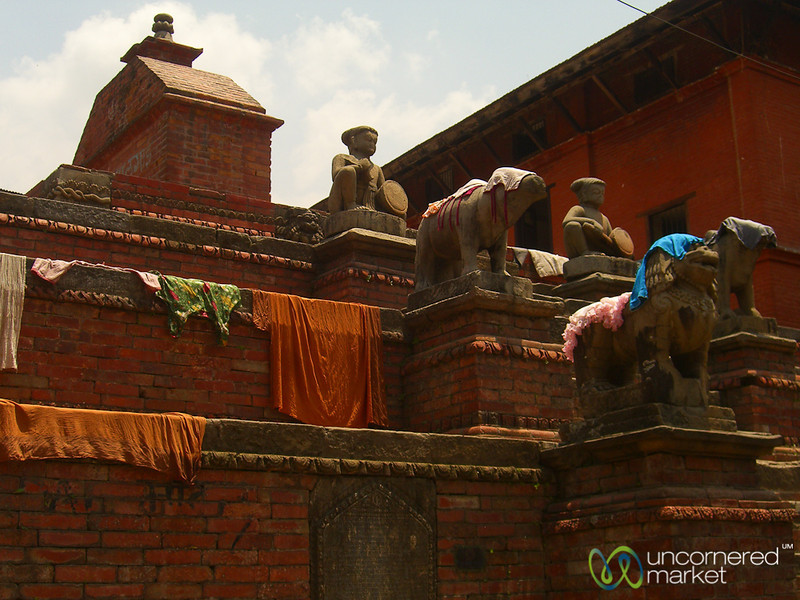 Laundry Drying - Bhaktapur, Nepal
