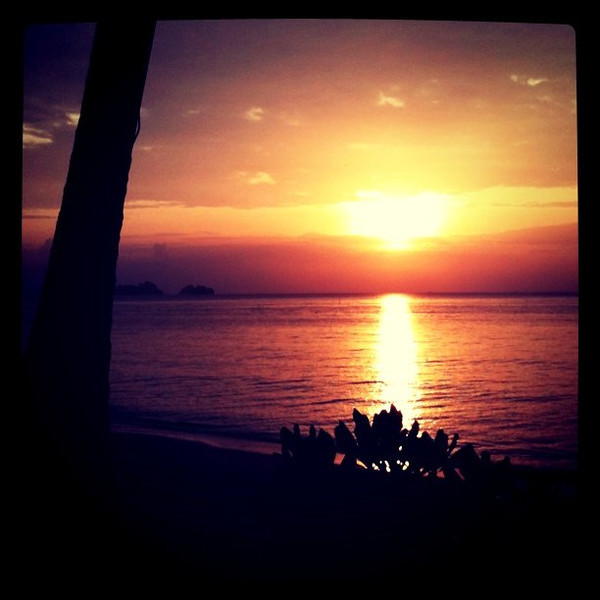 Sunset new year, Ko Samui