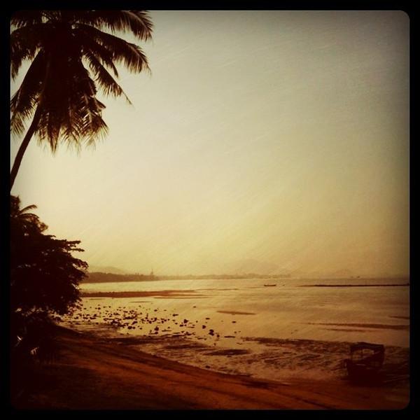 Last morning on Koh Samui, Thailand
