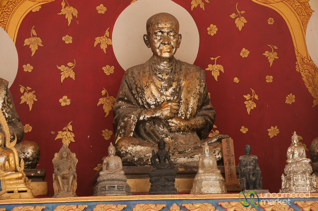 Gold-Covered Mouth - Big Buddha, Koh Samui