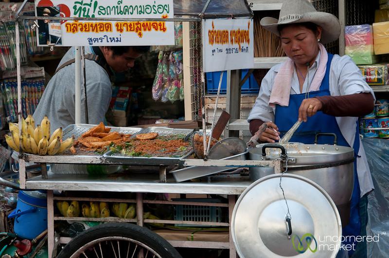 Street food and Cowboy Hats - Bangkok, Thailand