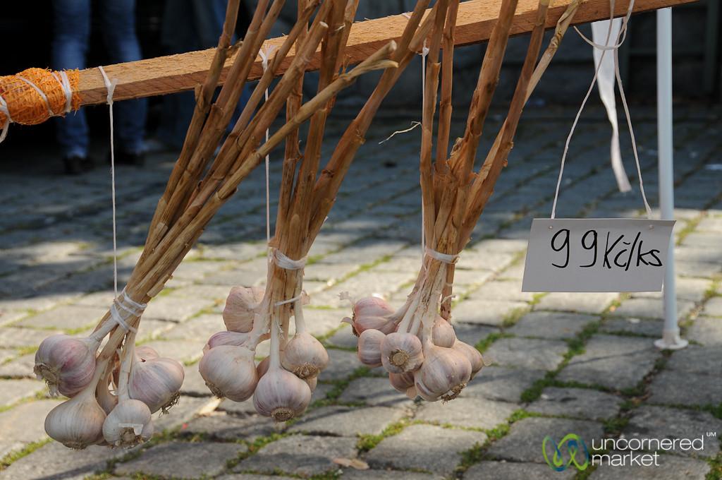 Fresh Garlic for Sale - Prague, Czech Republic