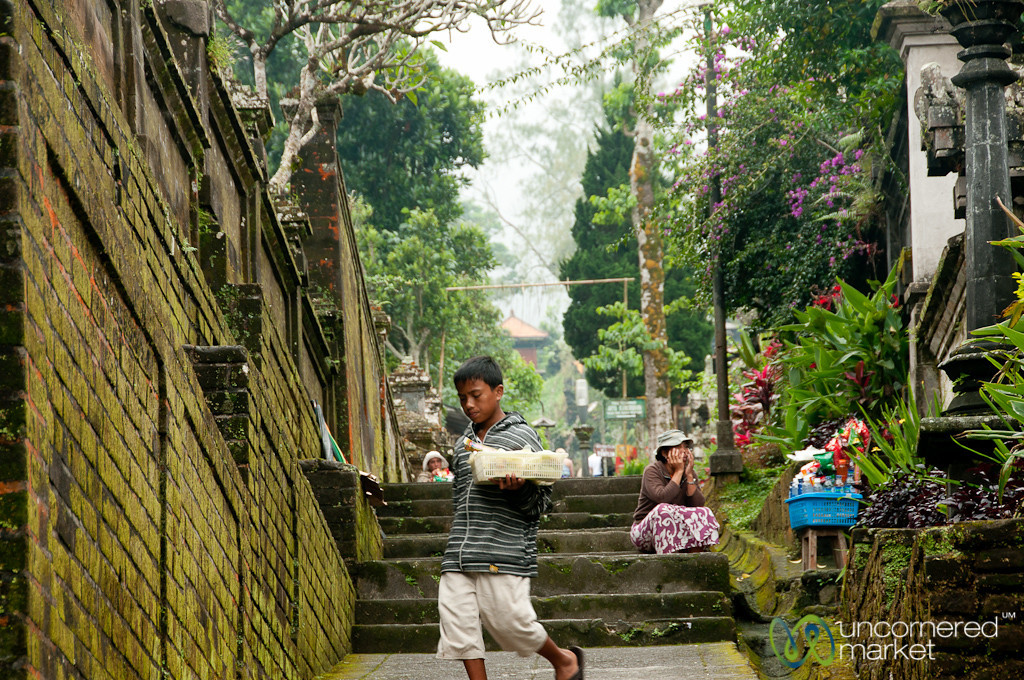 Side Alley at Besakih Temple - Bali, Indonesia