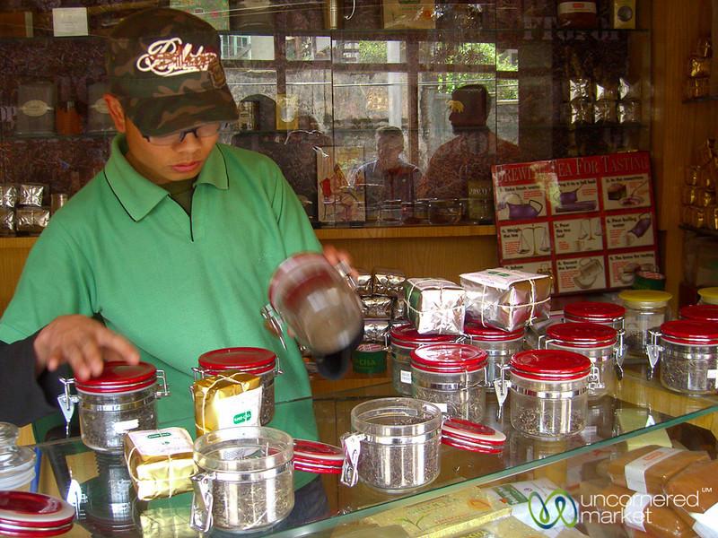 Tea Tasting in Darjeeling, India