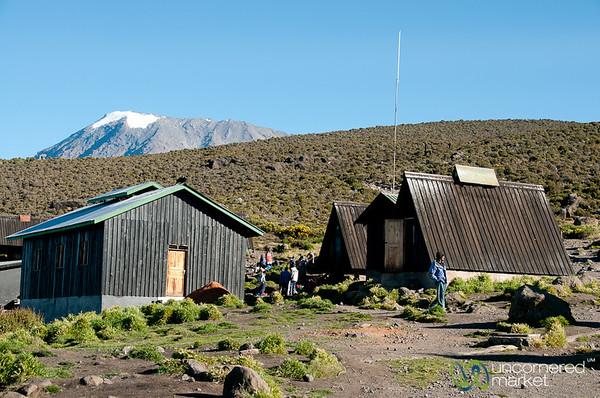 Horombo Huts Beneath Uhuru Peak - Mt. Kilimanjaro, Tanzania
