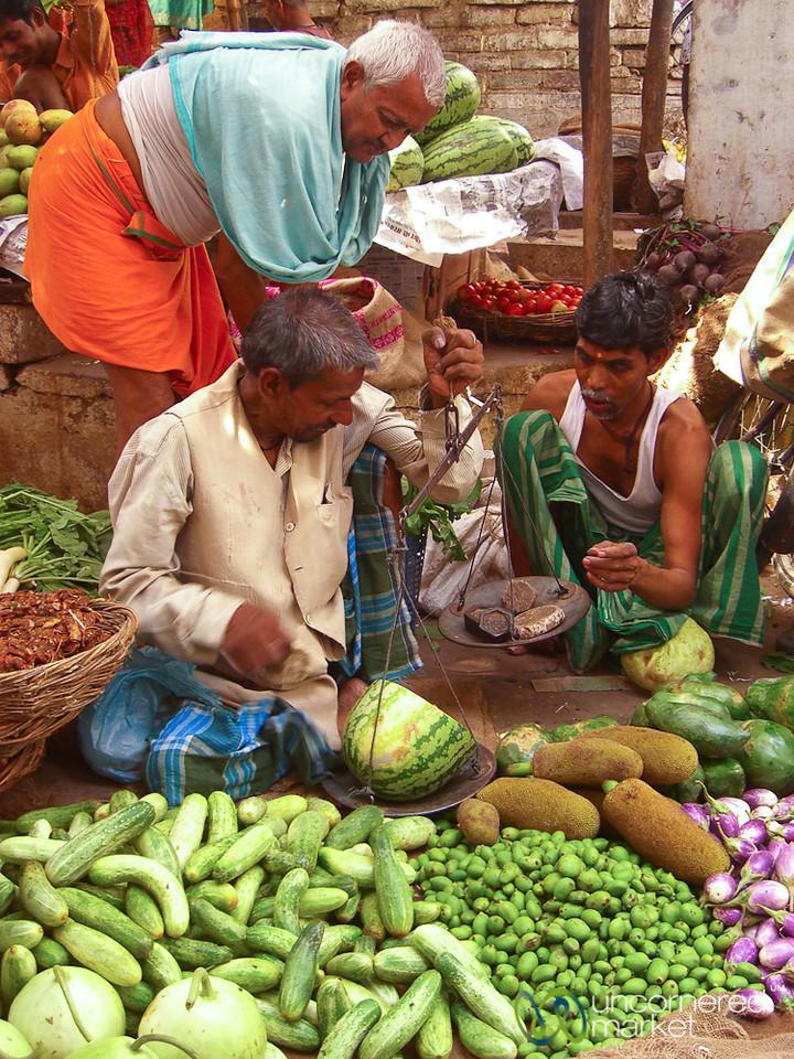 Heavy Watermelon - Varanasi, India