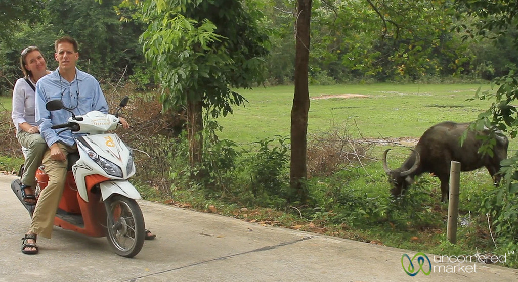 Riding Around Koh Samui on a Motorbike - Thailand