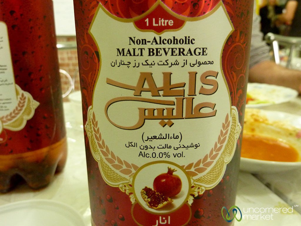 Pomegranate Beer in Iran
