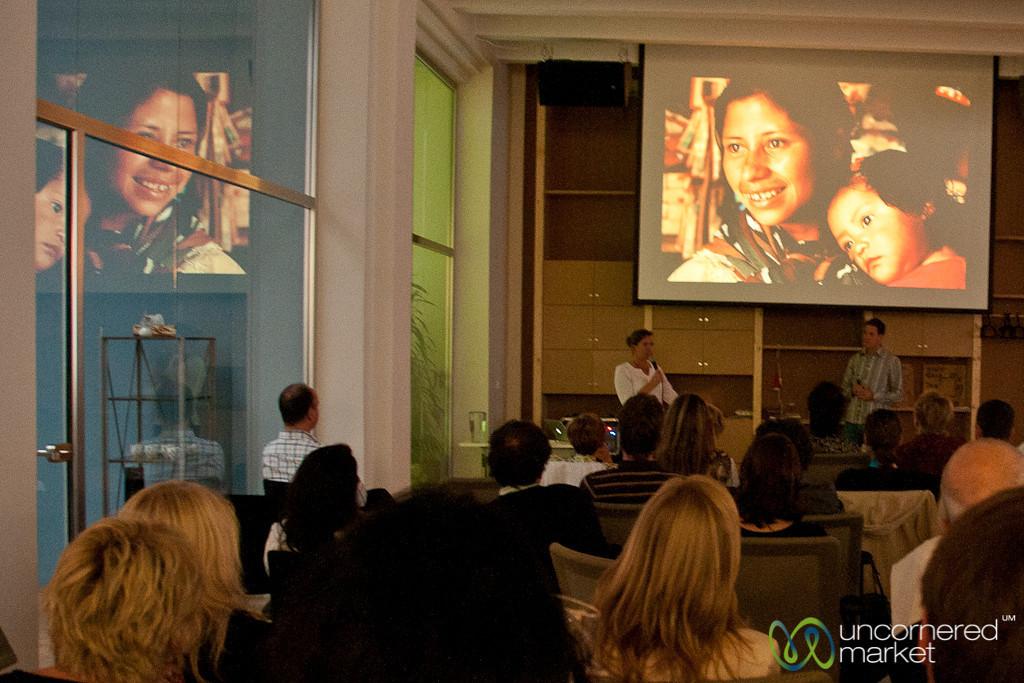 Presentation at the Hub Praha - Prague, Czech Republic