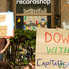 Down with Capitalism, Spreeufer für alle! Demonstration - Friedrichshain, Berlin