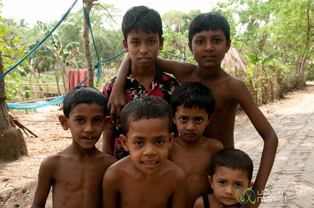 Young Bangladeshi Boys - Bagerhat, Bangladesh