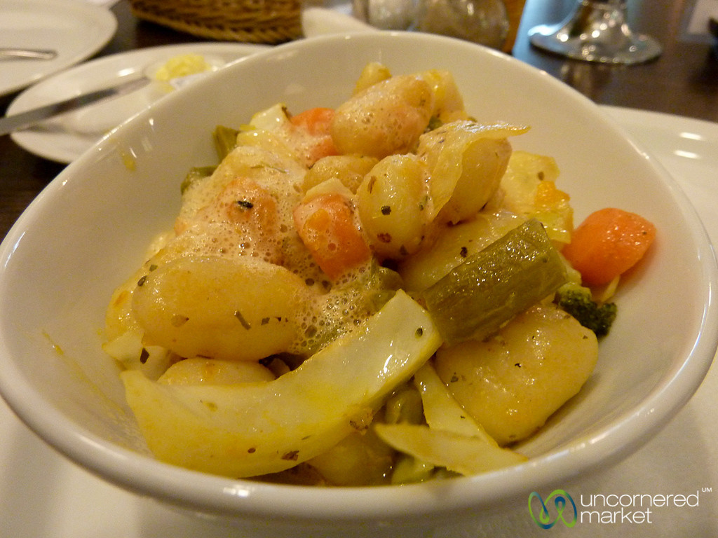 Gnochi with Roasted Vegetables - Wilmersdorf, Berlin