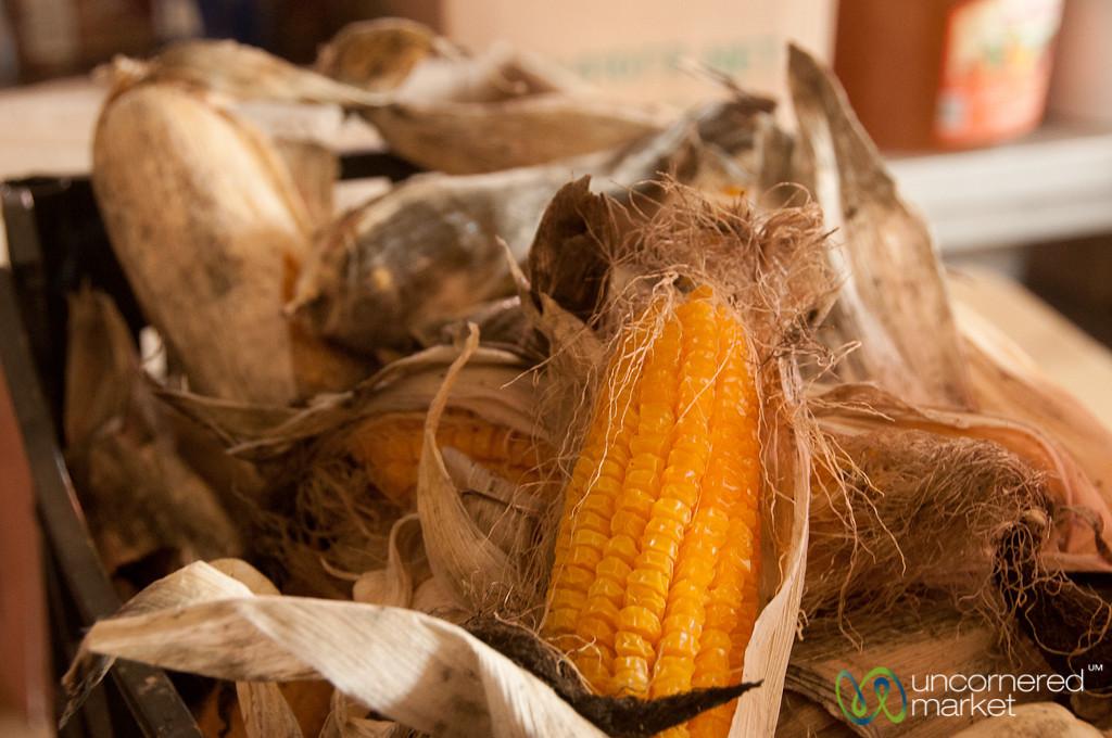 Dried Corn on Crete
