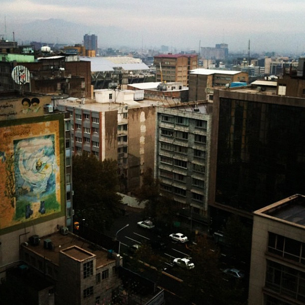 Good morning Tehran! #Iran #dna2iran