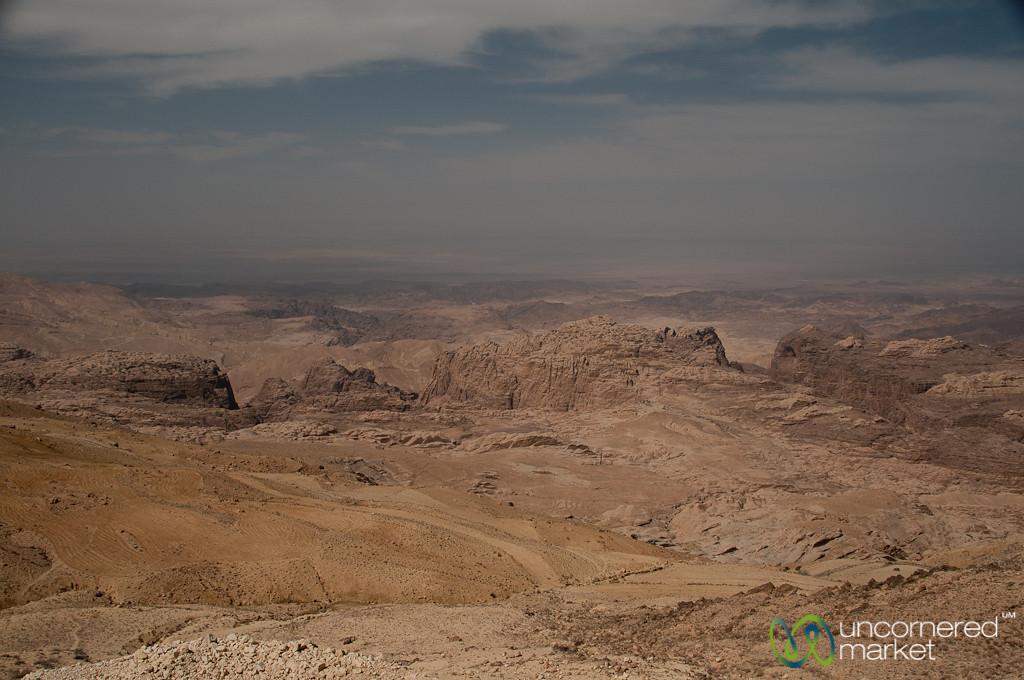 On the Way from Petra to Wadi Rum - Jordan