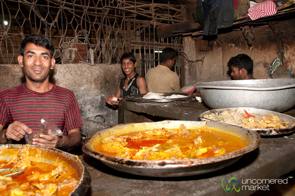 Inside a Kitchen in Shakhari Bazar - Dhaka, Bangladesh