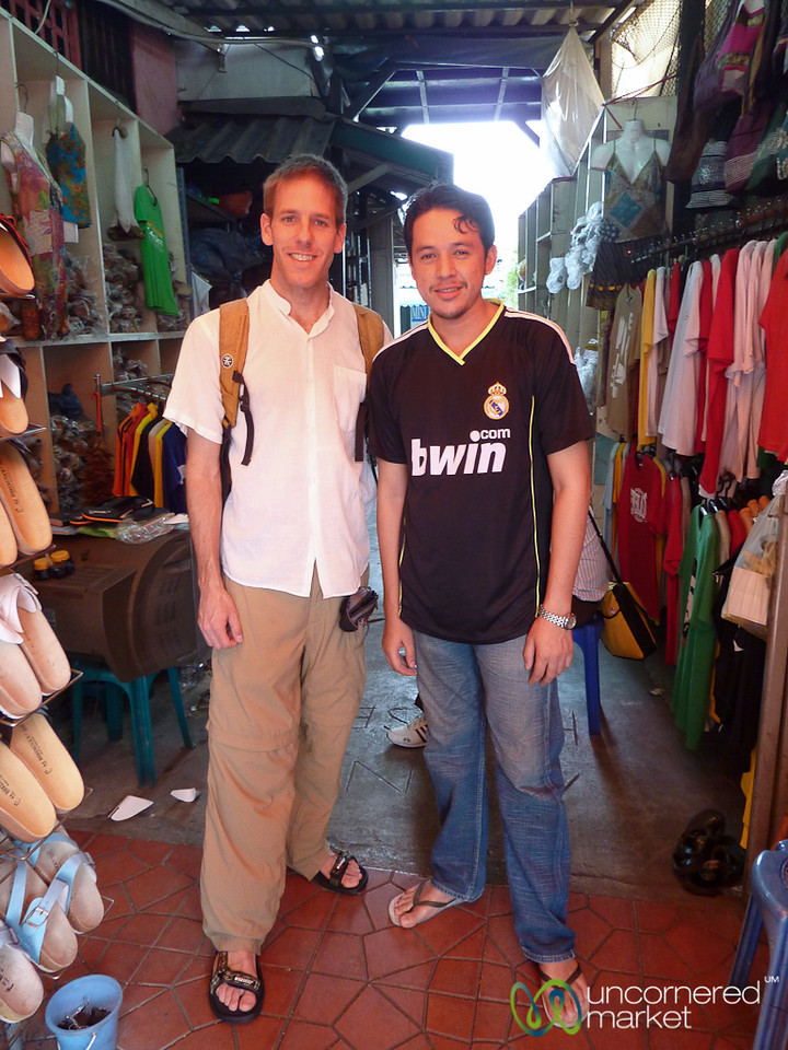 Dan's Regular Sandal Run in Bangkok, Thailand